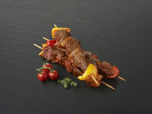 """Brochette de bœuf marinée """"Provençale"""""""